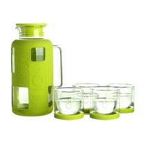 Stylor/法國花色套裝玻璃水杯品牌6杯水耐熱玻璃水壺套裝定制