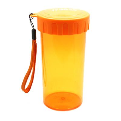 多色400ml塑料水杯便攜透明帶蓋防漏塑料茶杯定制企業禮品定制刻字