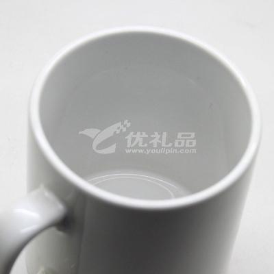 個性骨瓷馬克杯DIY變色杯水杯定做可印照片LOGO