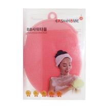 韓國進口硅膠按摩兩用搓澡巾 baby澡巾 按摩搓澡手套定制
