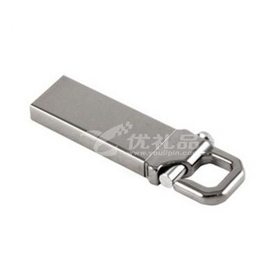 個性創意8gU盤金屬鑰匙扣U盤可印LOGO