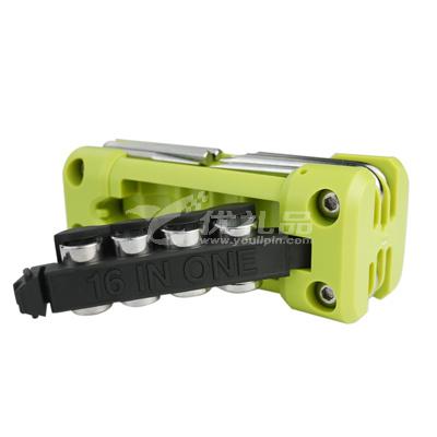 第6金 多功能螺丝刀工具十六合一实用套装