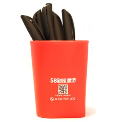廣告塑料筆筒異形筆筒定制