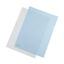 时尚L型单片夹 两页文件袋广告文件袋