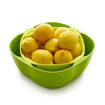 創意組合塑料水果盤歐式客廳零食干果盆定制