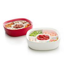 創意組合干果盒大容量分格糖果盒零食收納盒