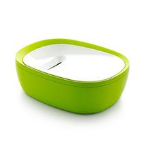 时尚钥匙零钱收纳盒有盖桌面收纳盒创意存钱罐置物整理盒