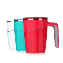 創意新品不倒杯便攜馬克杯吸盤隔熱水杯子