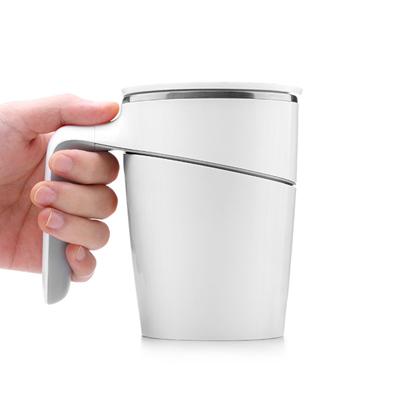 创意新品不倒杯便携马克杯吸盘隔热水杯子