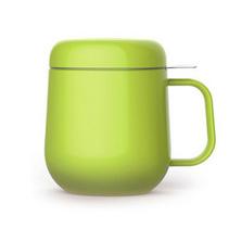 時尚無鉛陶瓷帶蓋泡茶杯過濾泡茶杯花茶杯馬克杯定制