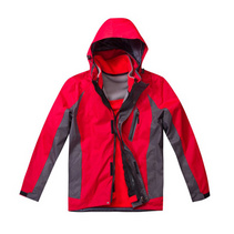 新款空白沖鋒衣 二件套可拆卸沖鋒衣訂做