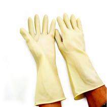 家用乳胶手套 防滑防污防护手套定制