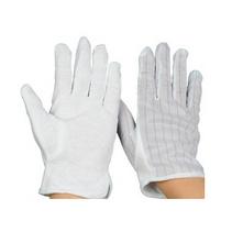 防静电防滑手套 防静电条纹手套定制