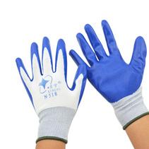 丁腈乳膠浸漬手套 防油耐磨勞保手套定制