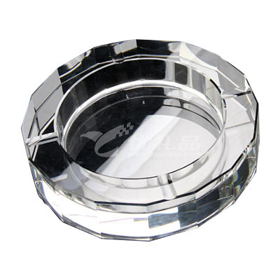 十六面款式商務水晶煙灰缸定制