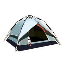 零度探索 3-4人戶外野營帳篷 多人全自動帳篷 速搭帳篷速開免搭建
