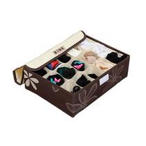 牛津布內衣收納盒三件套批發 收納箱有蓋加高