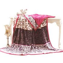 法莱绒休闲毯 床单毯子空调毯