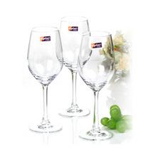 红酒杯葡萄酒杯高脚杯宴会杯无铅玻璃酒具套装4只装