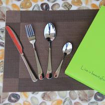 西餐刀叉勺餐具套裝高檔創意禮品帶彩盒