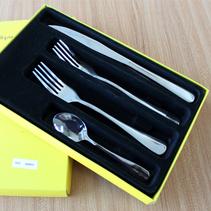 西餐刀叉勺套裝高檔創意禮品帶彩盒