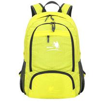 新款大容量戶外旅行雙肩包 防水尼龍35L運動折疊登山背包