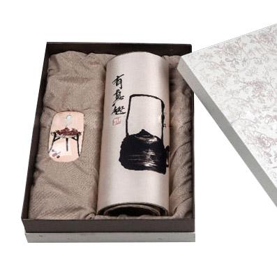 笔墨心境丝绸鼠标垫 鼠标套装定制