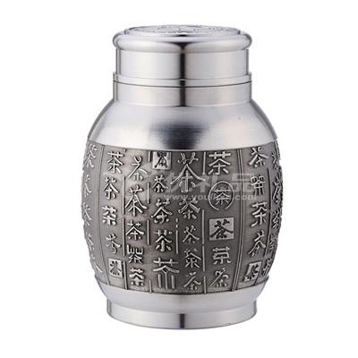 锡器锡罐 纯锡茶叶罐 茶具茶罐 百茶