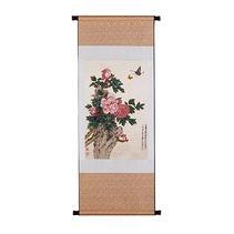 立體織錦版《牡丹 》 中國特色絲綢饋贈禮品