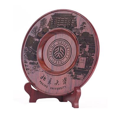 红木圆盘摆件 商务圆盘摆件