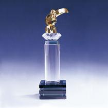 柱體水晶獎杯
