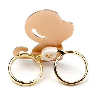 幻響(i-mu)百變雞 創意指環扣定制 手機支架 雙指環