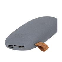 創意鵝卵石充電寶定制10400毫安通用小巧便攜移動電源定制