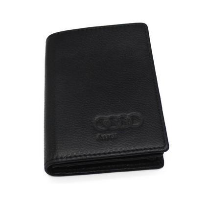 優質羊皮名片包卡包名片夾定制logo 皮具禮品