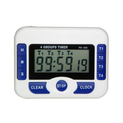 四组电子定时器定制 倒计时器 带时钟 厨房提醒器 正计时定制