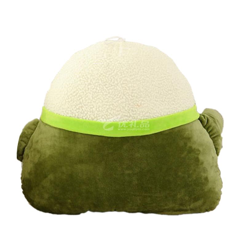 端午节粽子抱枕卡通粽子15cm竹炭包毛绒玩具抱枕 创意粽情粽意礼物