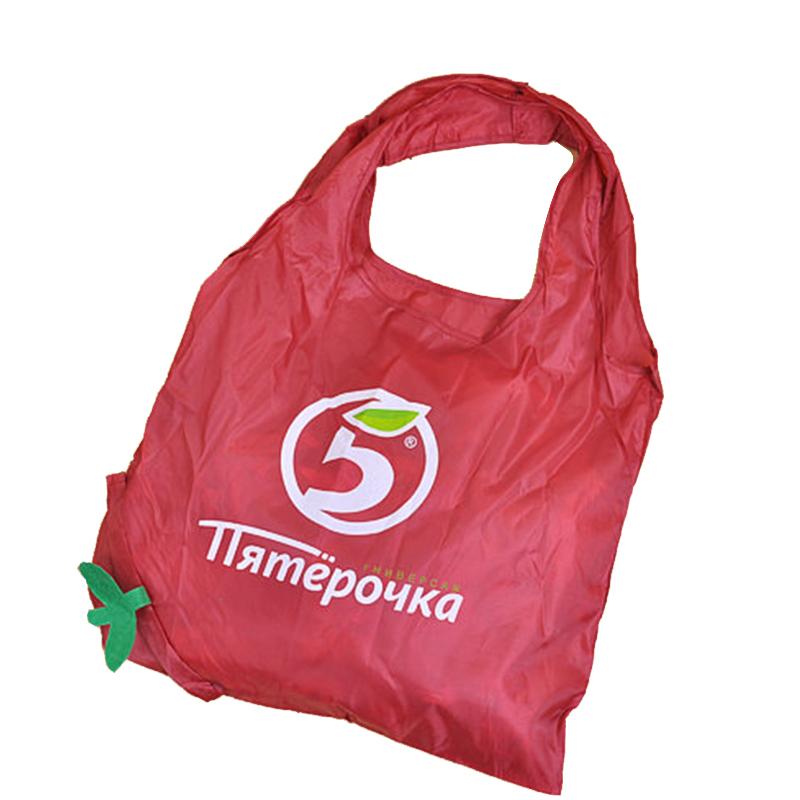 苹果购物袋 苹果折叠购物袋 水果造型购物袋