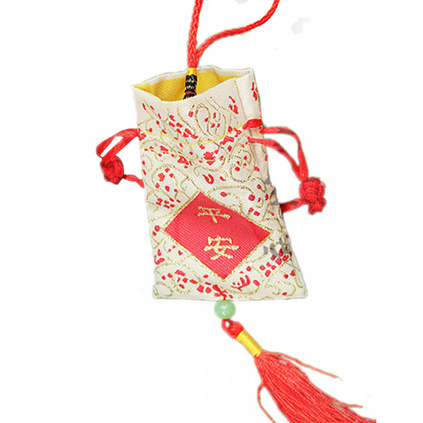 香包荷包手工端午节香囊香袋空袋子五彩绳挂脖长绳薰衣草香囊