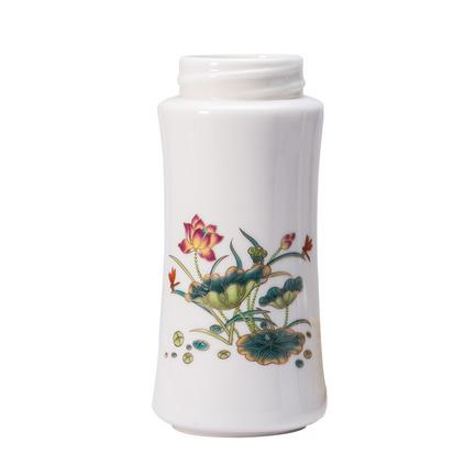 骨質瓷活水杯保溫瓶青花瓷禮品杯+多功能陶瓷罐定制