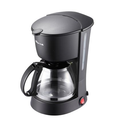 Bear/小熊咖啡机家用 防滴漏旋转式迷你美式全自动小型煮咖啡壶 篮色、黑色