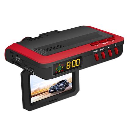 新創意現場D7000智能行車預警儀 電子狗行車記錄儀一體機安全預警儀高清行車記錄儀