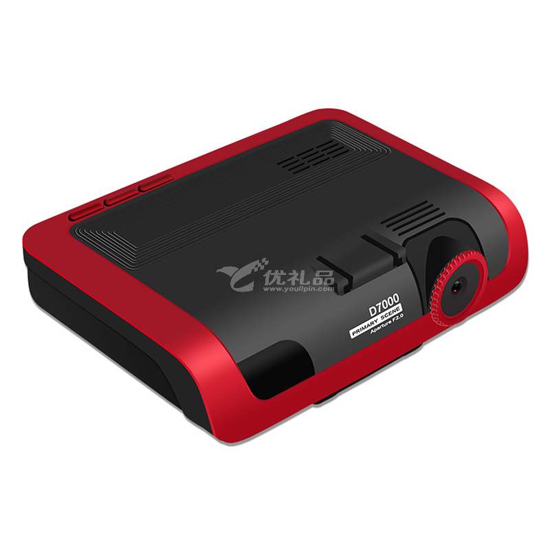 新创意现场D7000智能行车预警仪 电子狗行车记录仪一体机安全预警仪高清行车记录仪