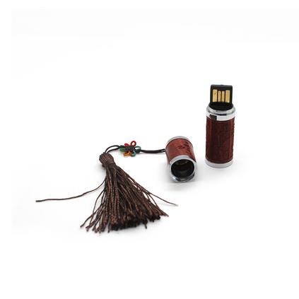 高檔紅木筆紅木8GU盤套裝配竹木包裝盒