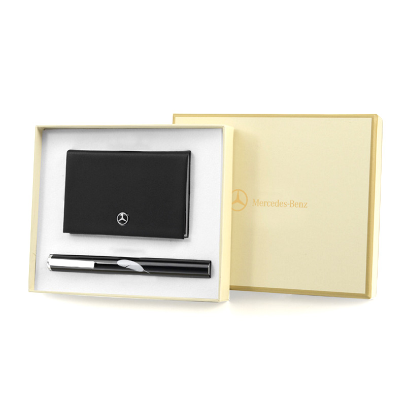 NANV时尚商务必威体育在线平台套装 签字笔+名片盒
