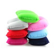 植绒充气便携枕头 U型枕 旅行枕 靠枕