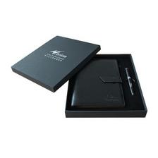 筆記本商務套裝定制 高檔筆記本 筆套裝定制