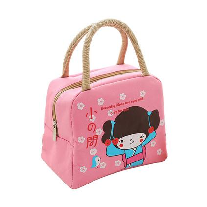 日本小女孩便當包飯盒袋大號手提加厚保溫袋飯盒包定制