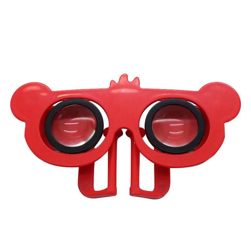 创意迷你小熊VR眼镜 便携3D虚拟现实眼镜必威bet