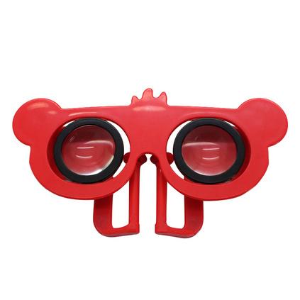 創意迷你小熊VR眼鏡 便攜3D虛擬現實眼鏡定制