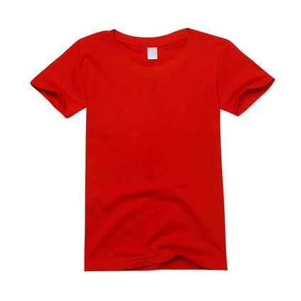 200克纯棉精梳儿童文化衫 儿童T恤定制